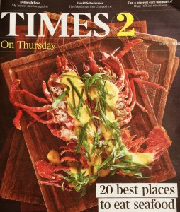 Times cover Shell Bay