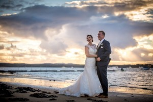 Shell Bay wedding beach